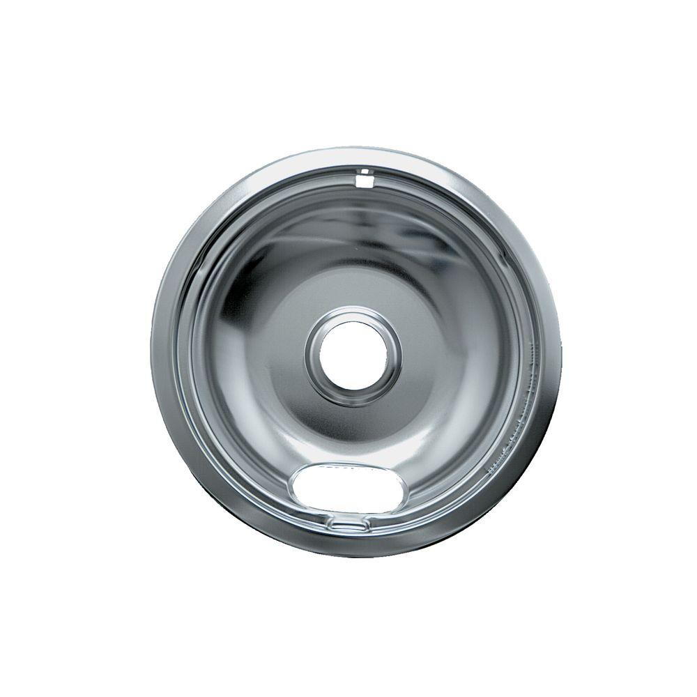 6 in. A Style Drip Pan in Chrome