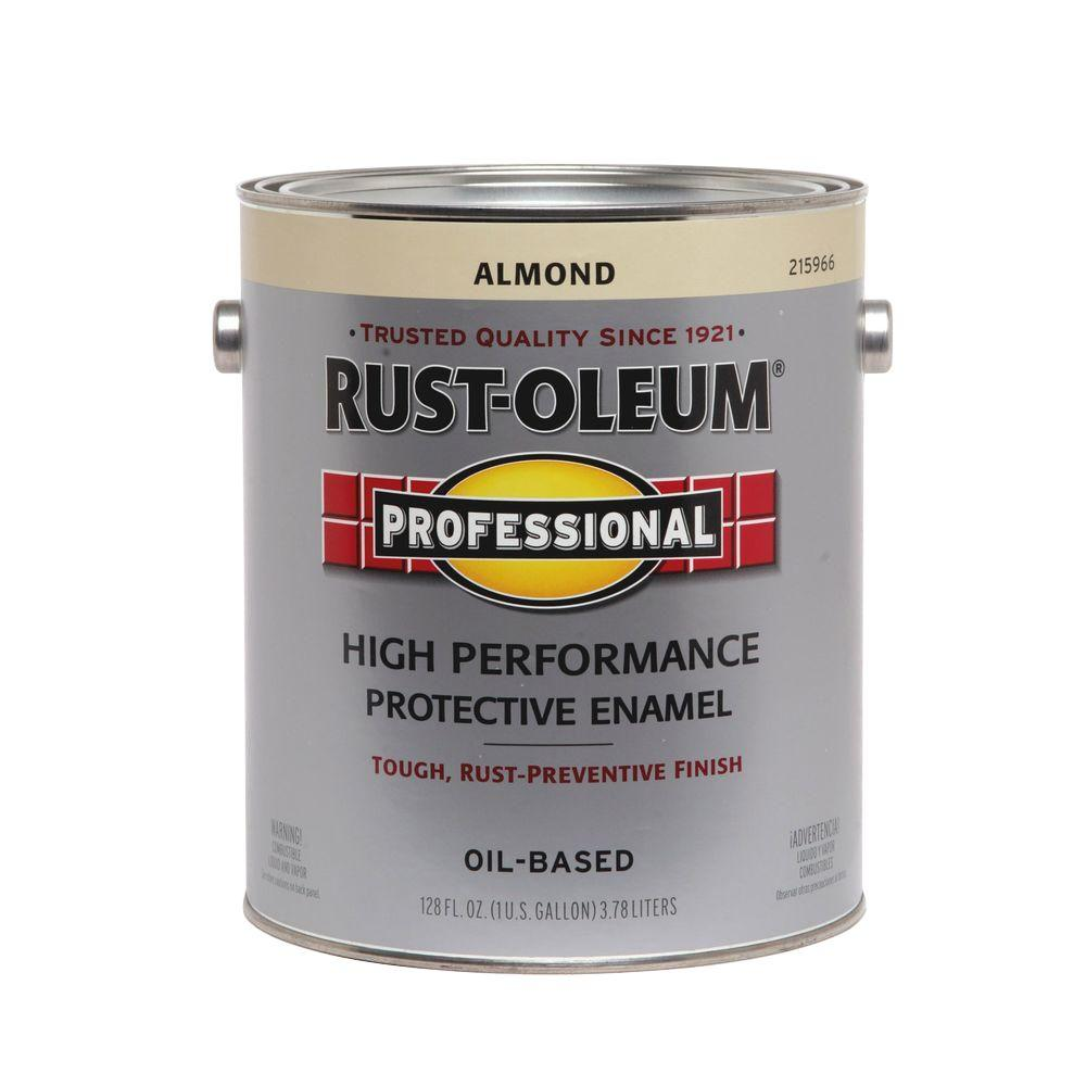 Rust-Oleum Professional 1 gal. Almond Gloss Protective Enamel (Case of 2)