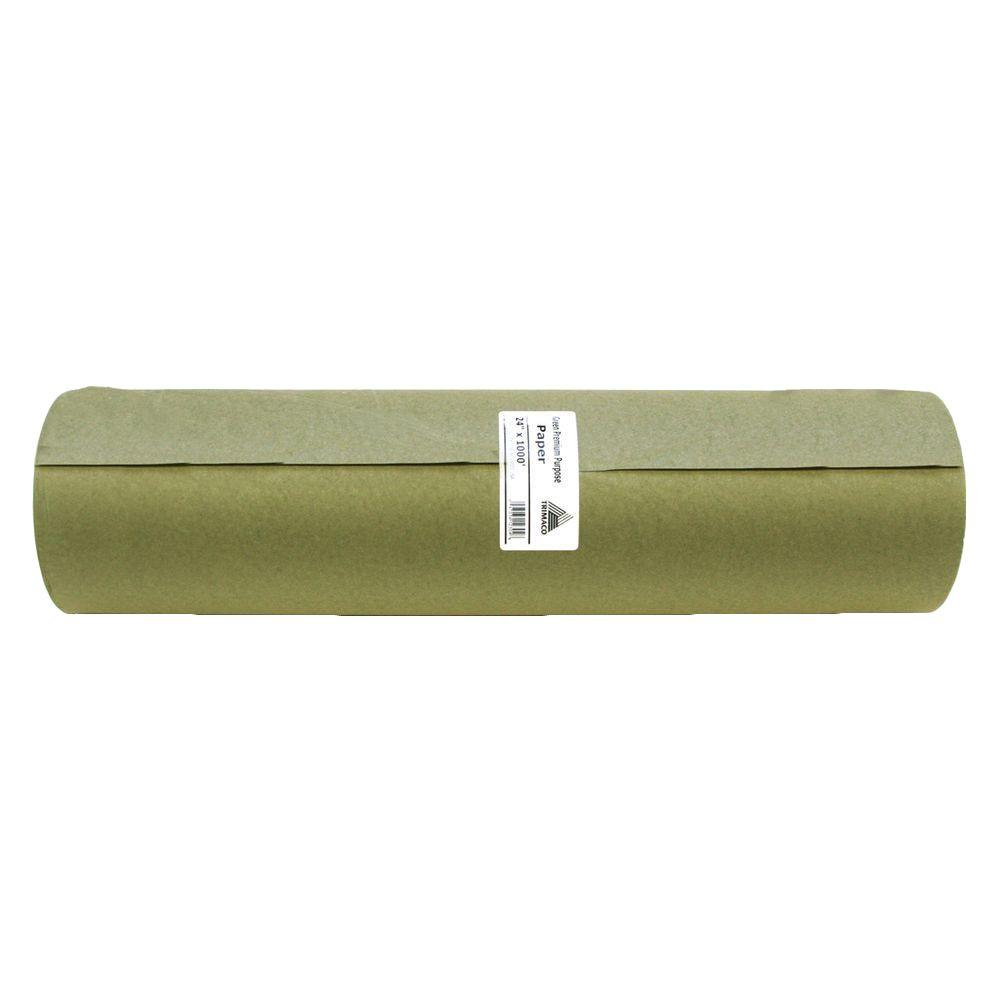 24 in. x 1000 ft. Green Masking Paper