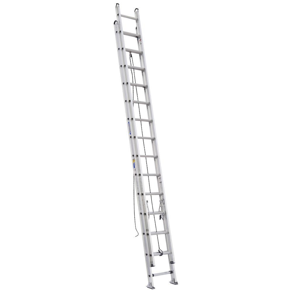 Werner 28 ft. Aluminum D-Rung Extension Ladder with 375 lb. Load