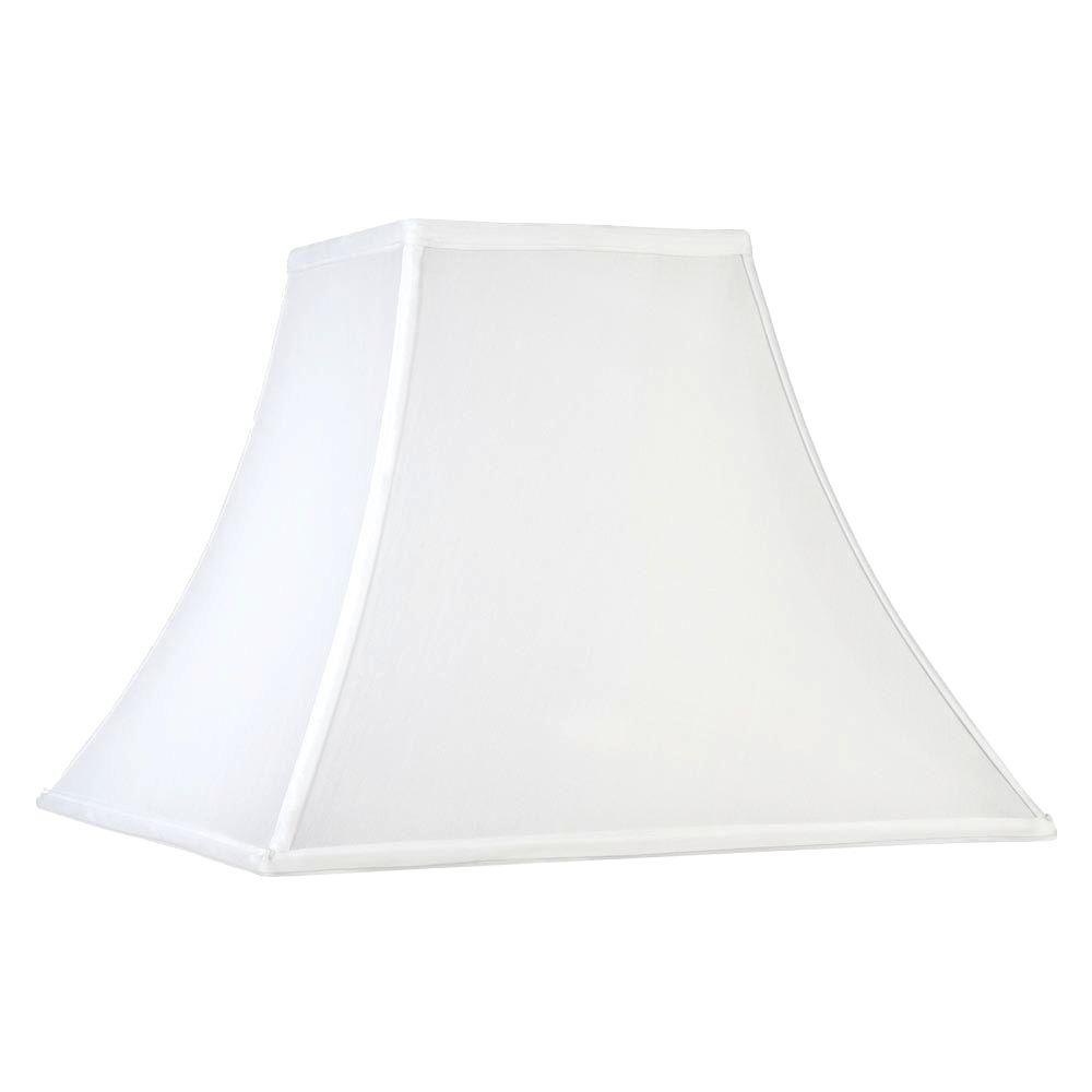 Laura Ashley Classic 11 in. White Pagoda Shade
