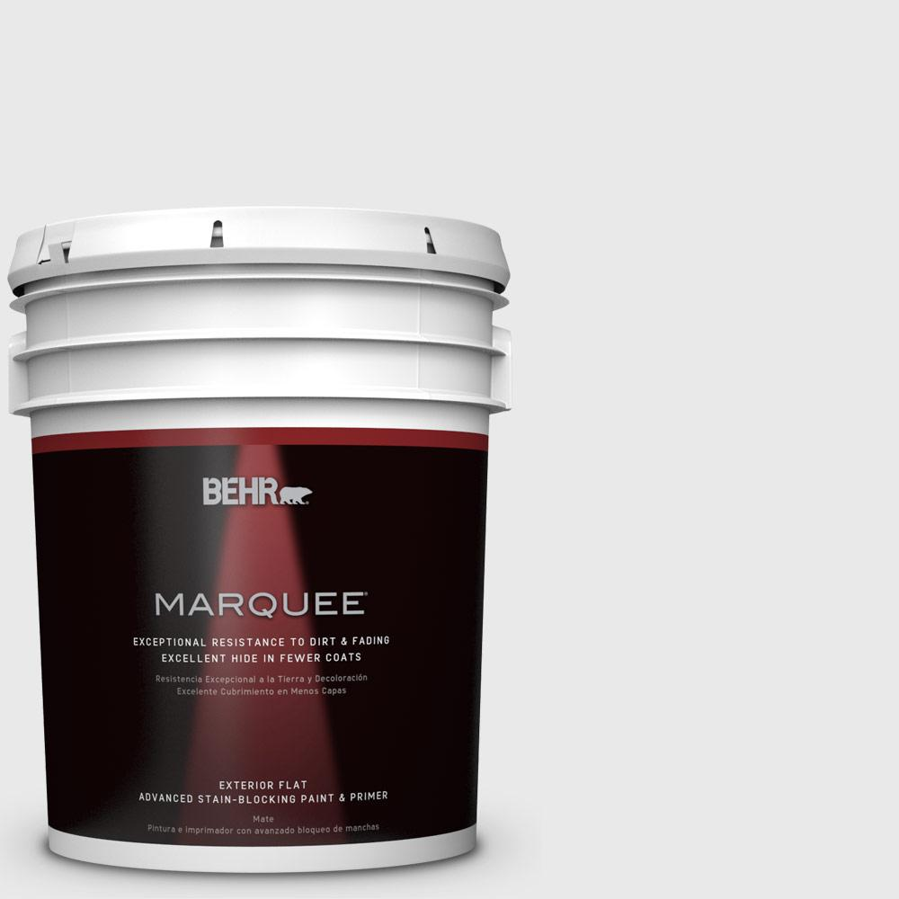 5-gal. #PWN-44 Bay Breeze Flat Exterior Paint