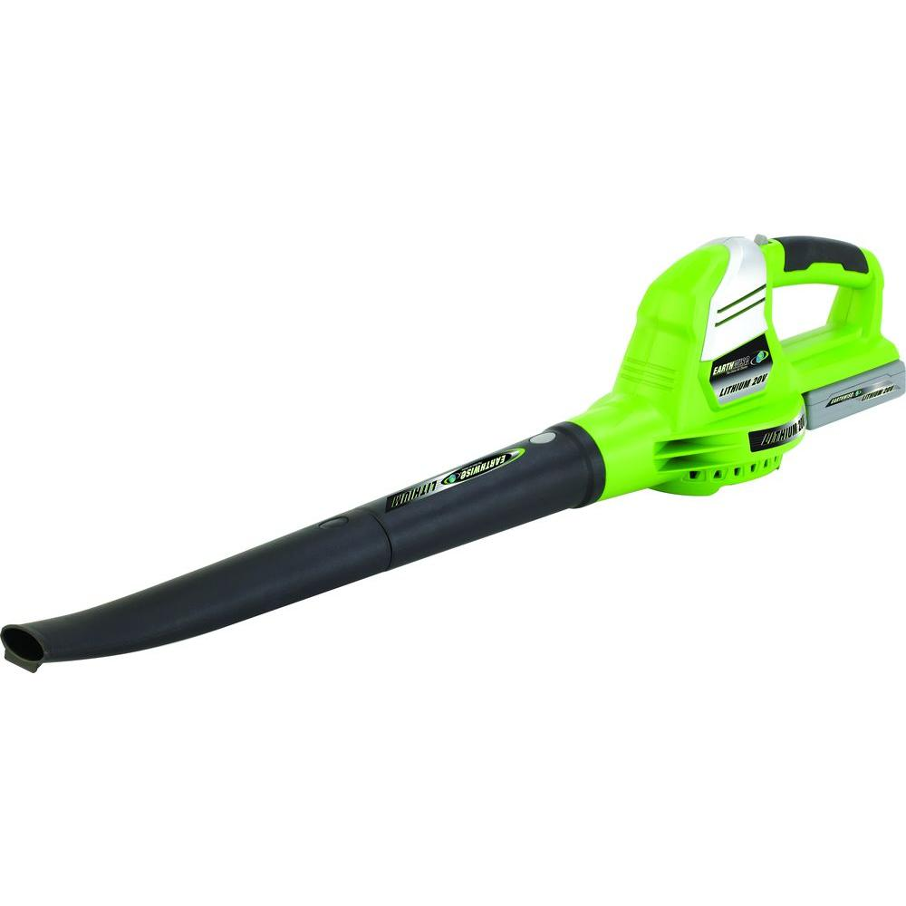 Earthwise 130 Mph 71 Cfm 20 Volt Lithium Ion Cordless Leaf