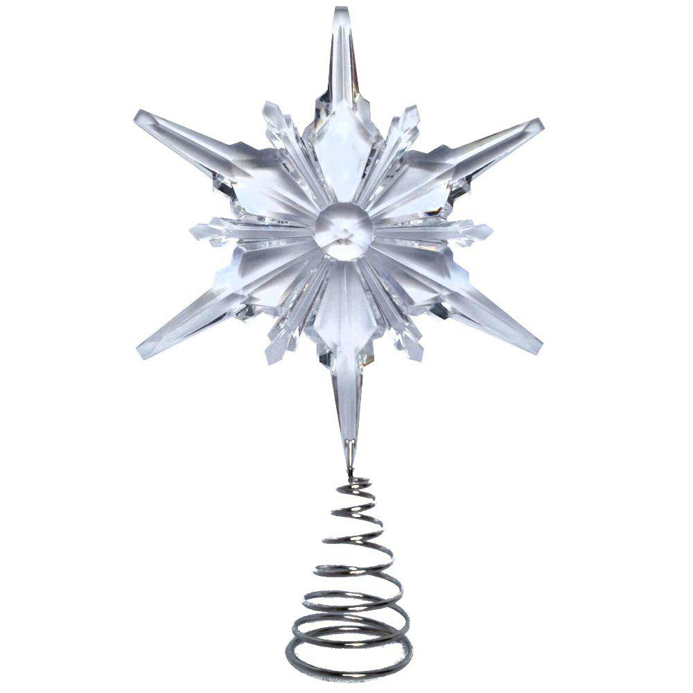 13 in. Snowflake Tree Topper