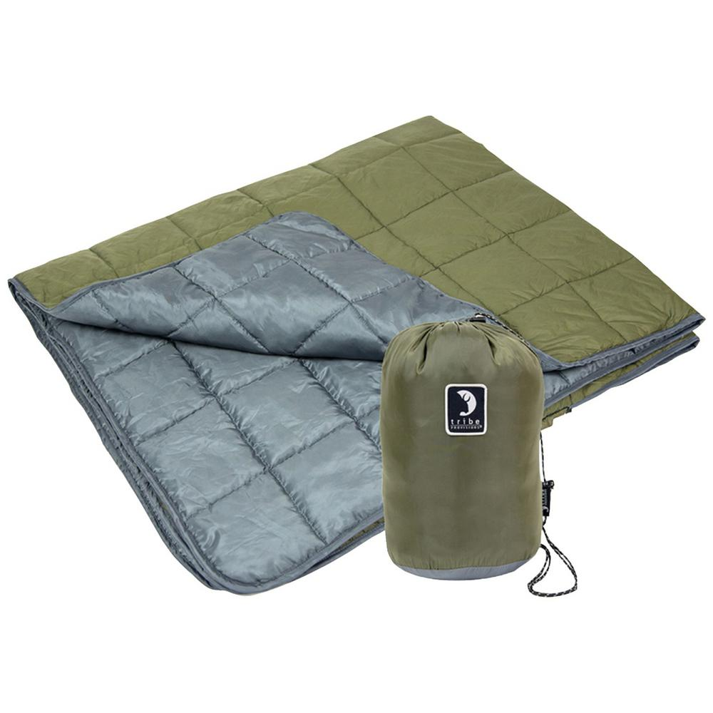 Tribe Provisions Tpabgs Go Anywhere Adventure Blanket in Green-TPABGS - The
