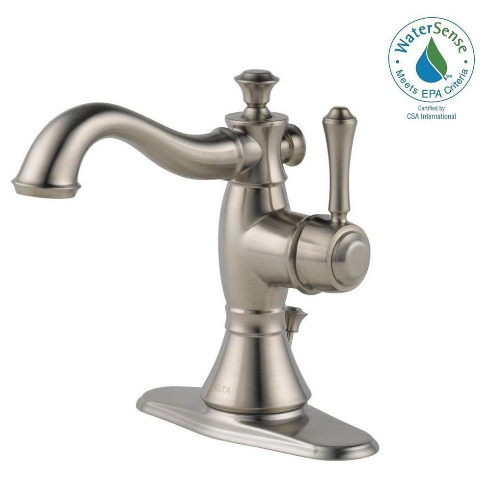 Delta Dryden Single Hole Single Handle Bathroom Faucet