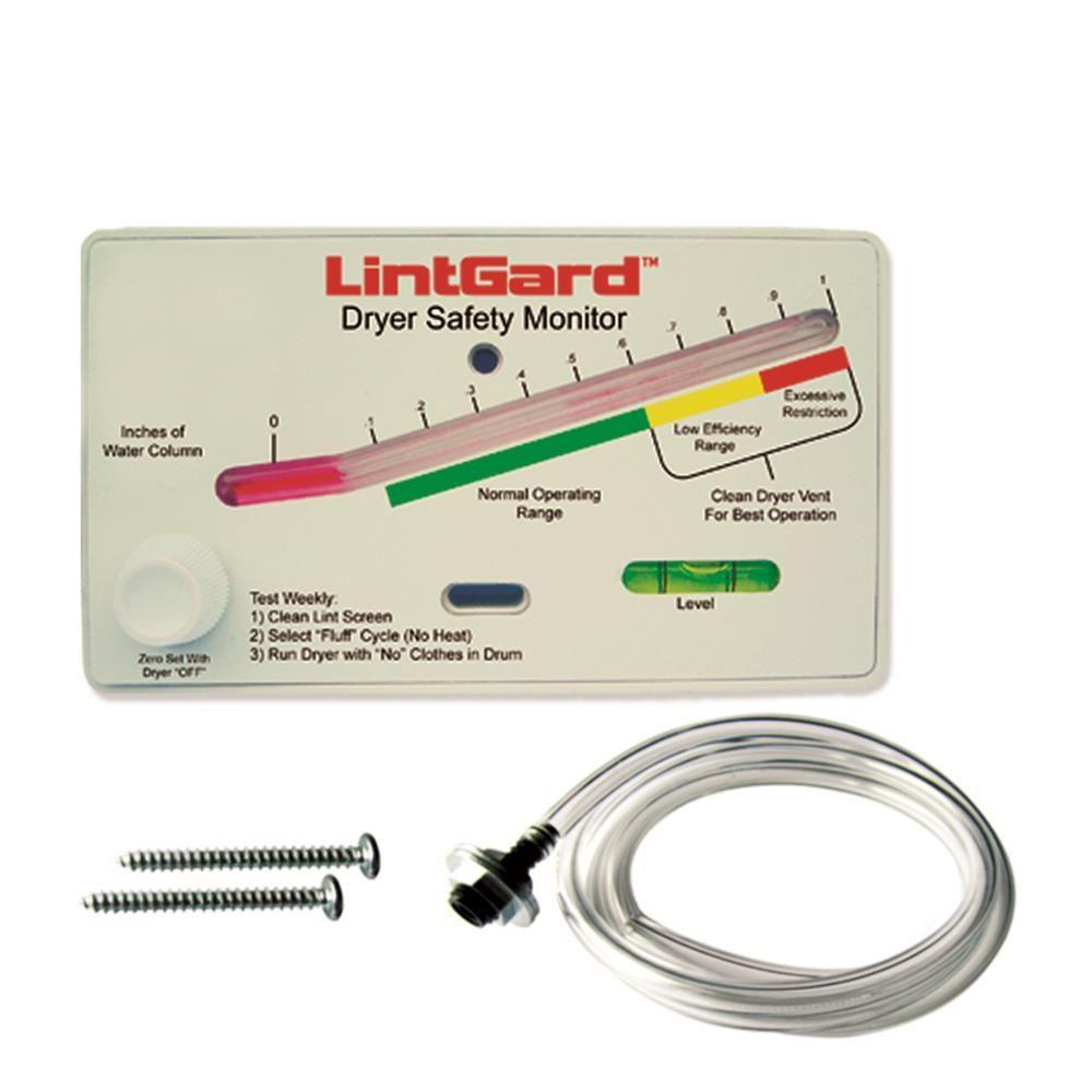 Gardus LintGard Dryer Safety Monitor-LGM7 - The Home Depot