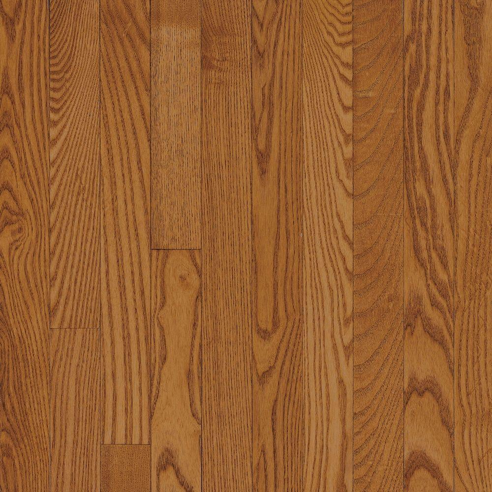 Natural Reflections Butersctch White Ash Solid Hardwood Flooring - 5 in. x 7 in. Take Home Sample, Butterscotch