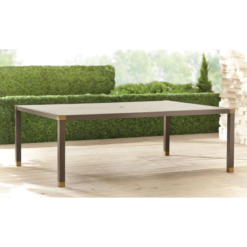 Form 84 in. x 60 in. Rectangular Patio Dining Table --