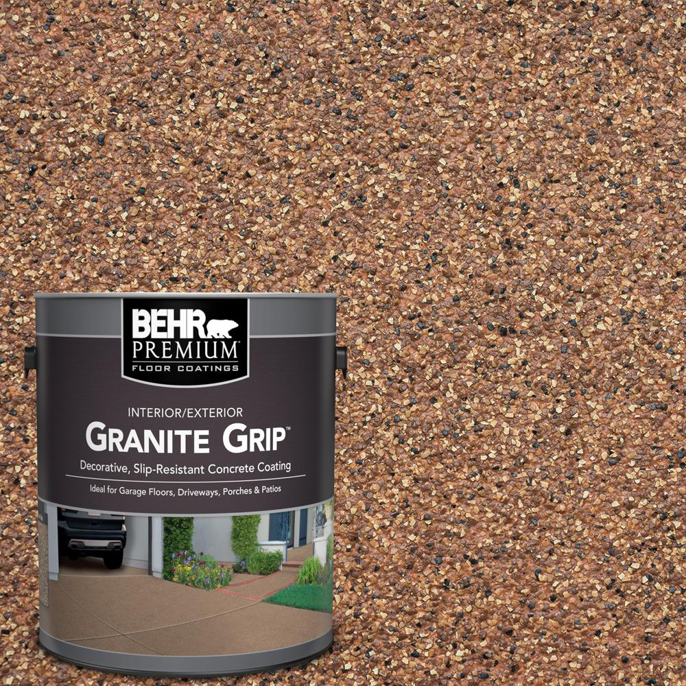 1 gal. #GG-10 Copper Marble Decorative Concrete Floor Coating