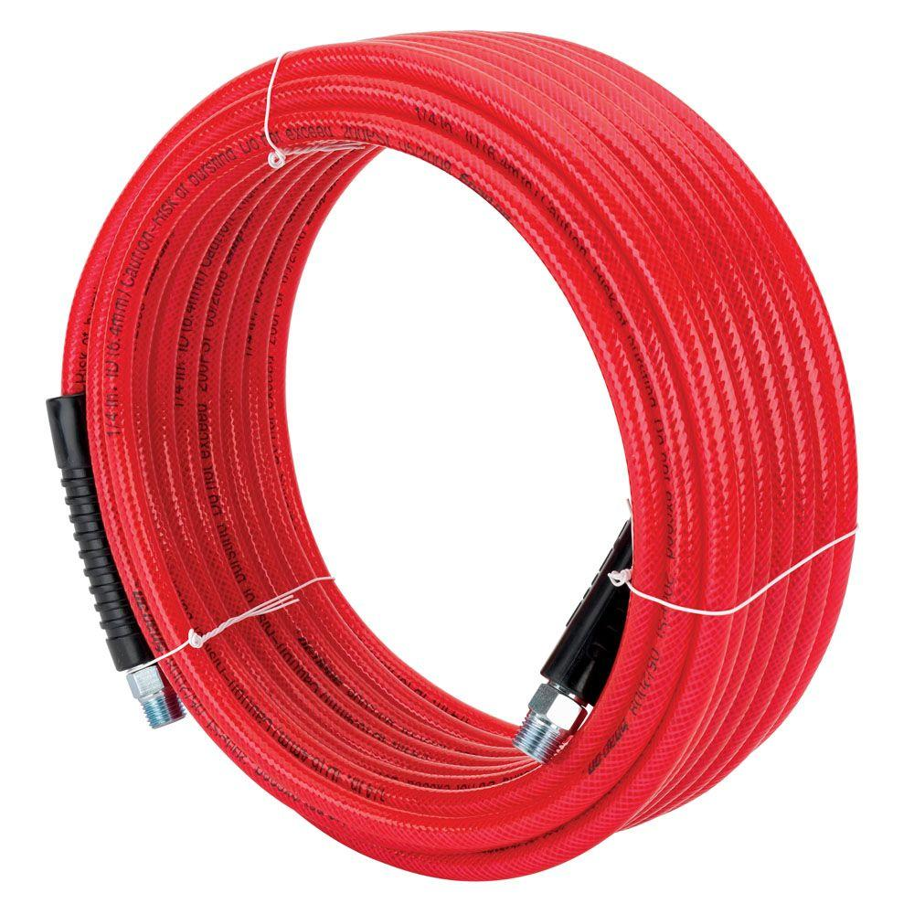 Snap-on 1/4 in. x 50 ft. Polyurethane Air Hose-870216 - The