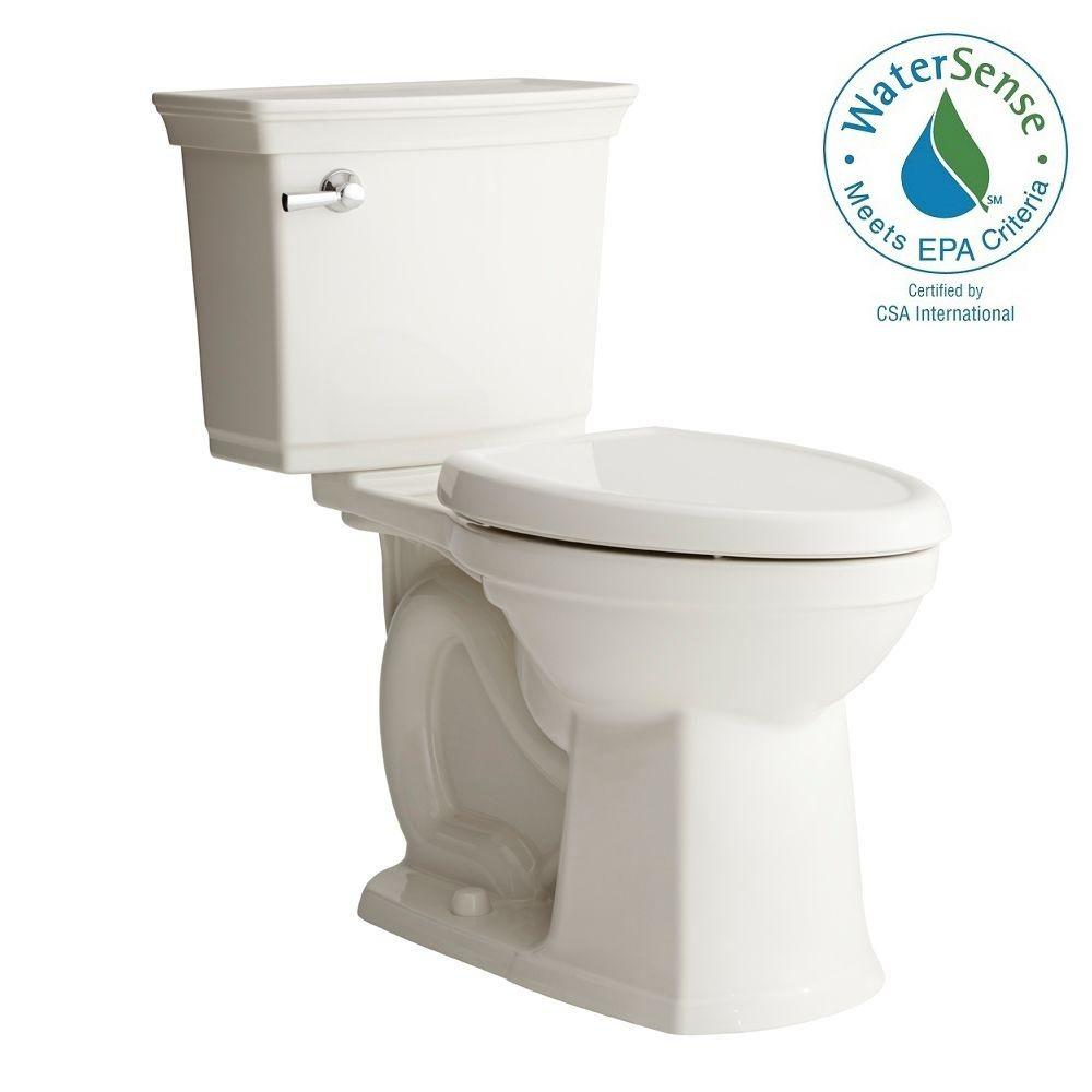 American Standard Optum VorMax Complete Right Height 2-piece 1.28 GPF Elongated Toilet in White