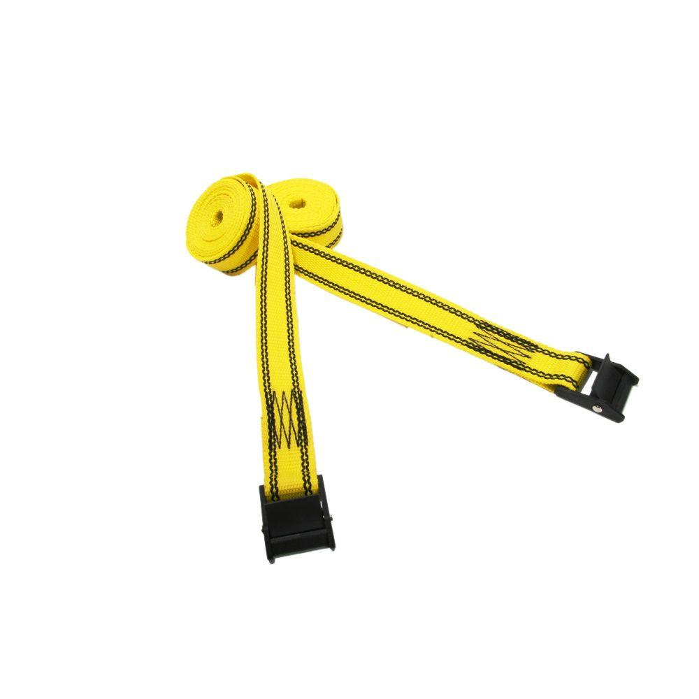 null 8 ft. x 1-1/4 in. Nylon Cam Buckle Lashing Straps (2-Pack)