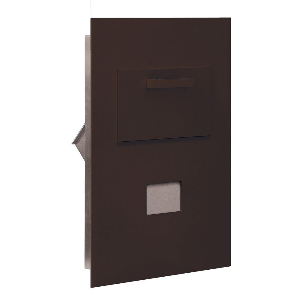 3600 Series Collection Unit Bronze USPS Rear Loading for 5 Door