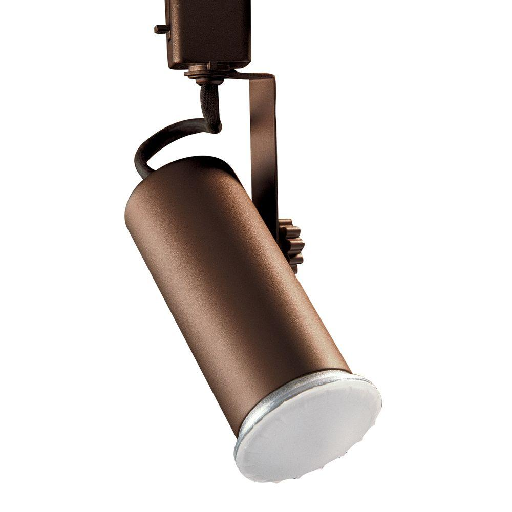 Designers Choice Collection Universal Line-Voltage Oil-Rubbed Bronze Track Lighting Fixture