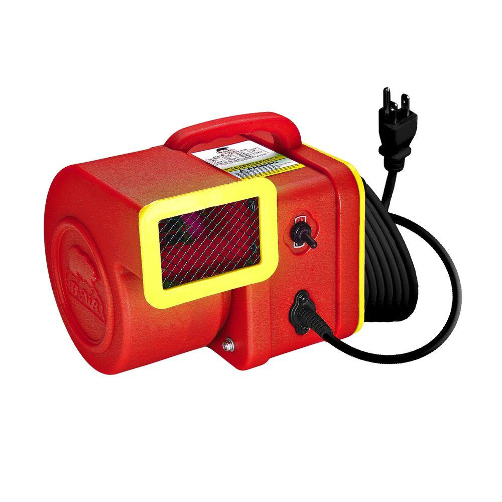 B-Air High-Velocity Lightweight Crawl Space and Attic Mini Air Mover-Blower-Safety Certified