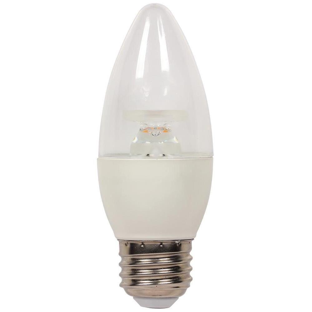 Westinghouse 60W Equivalent Warm White B13 Dimmable LED Light Bulb-3313200 -