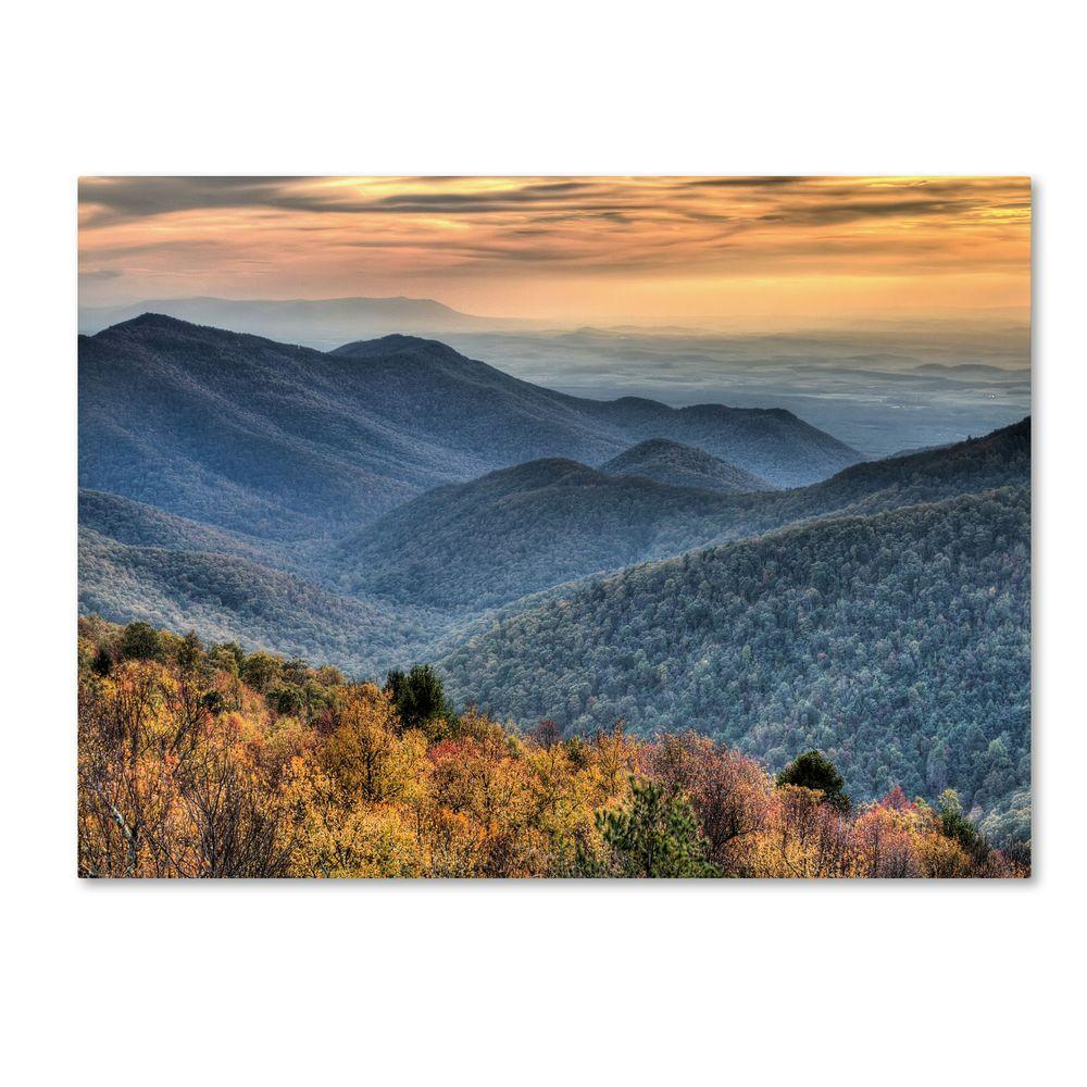 22 in. x 32 in. Shenandoah Autumn Canvas Art