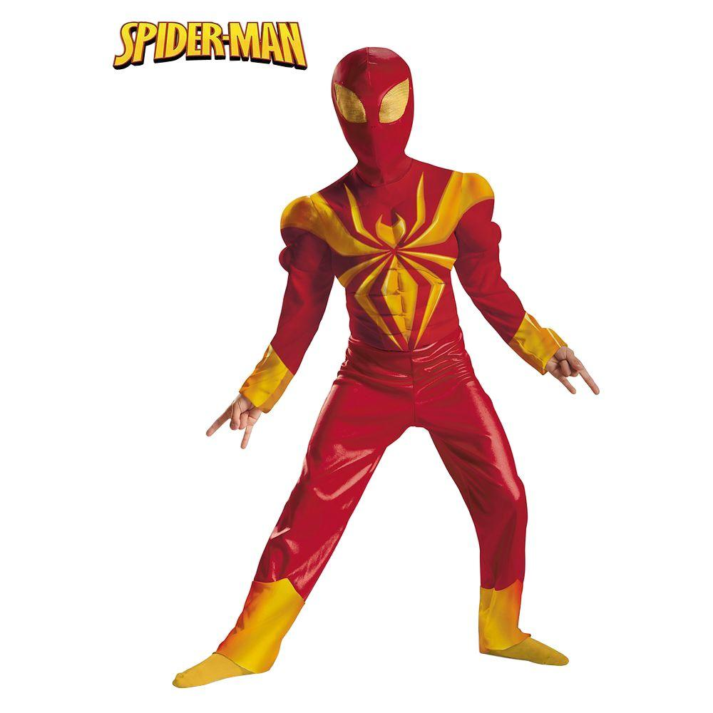 Disguise Ultimate Iron Spider Man Classic Muscle Costume