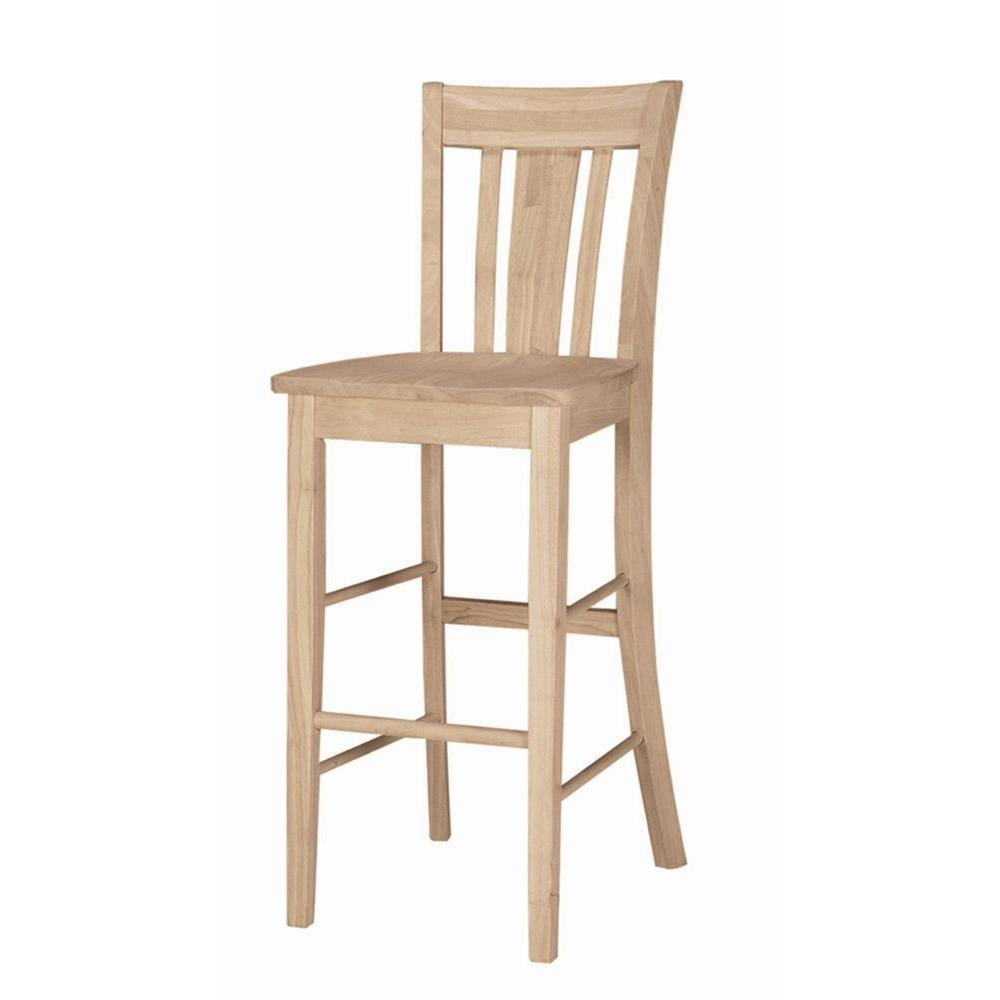 International Concepts 44.5 in. San Remo Stool-S-103 - The Home Depot