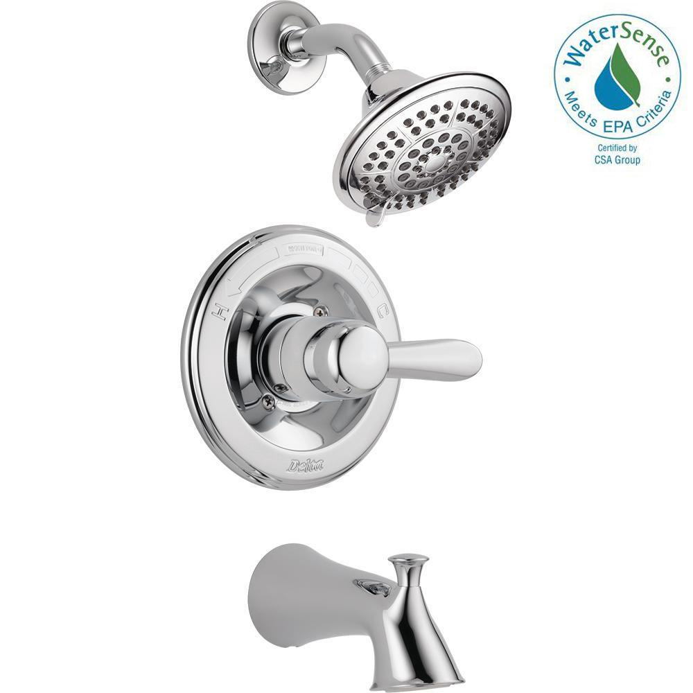 lahara roman tub faucet. This review is from Lahara 1 Handle Tub and Shower Faucet Trim Kit Only in  Chrome Valve Not Included Delta