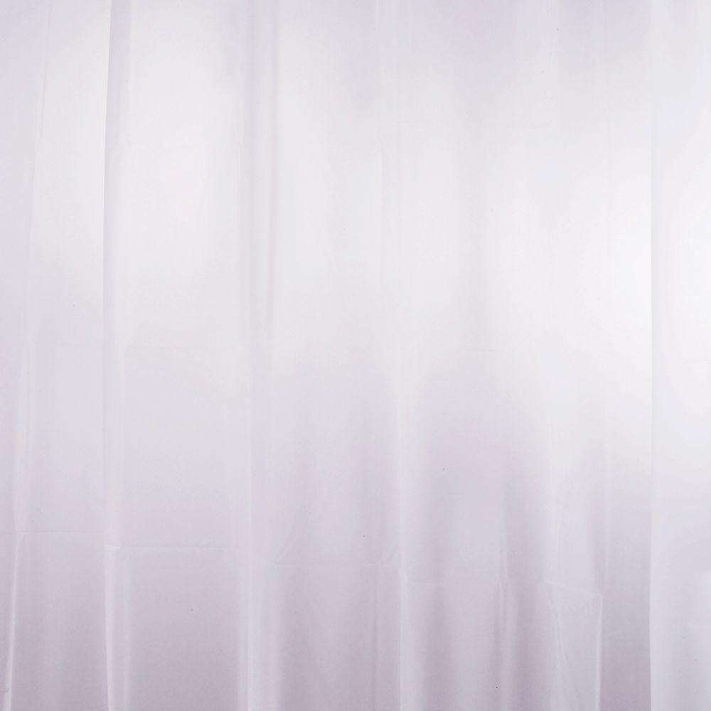 interDesign EVA Shower Curtain Liner in Lavender-14756 - The Home Depot