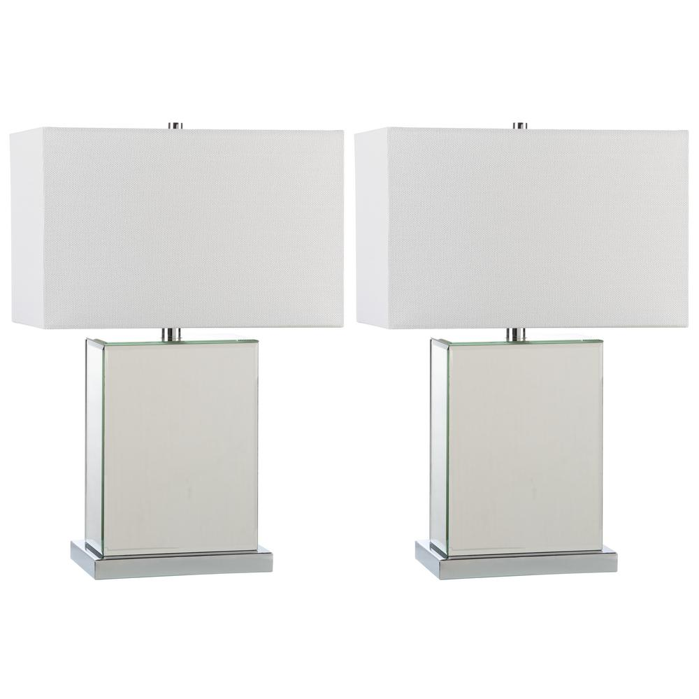 Dana 23 in. Clear Table Lamp (Set of 2)