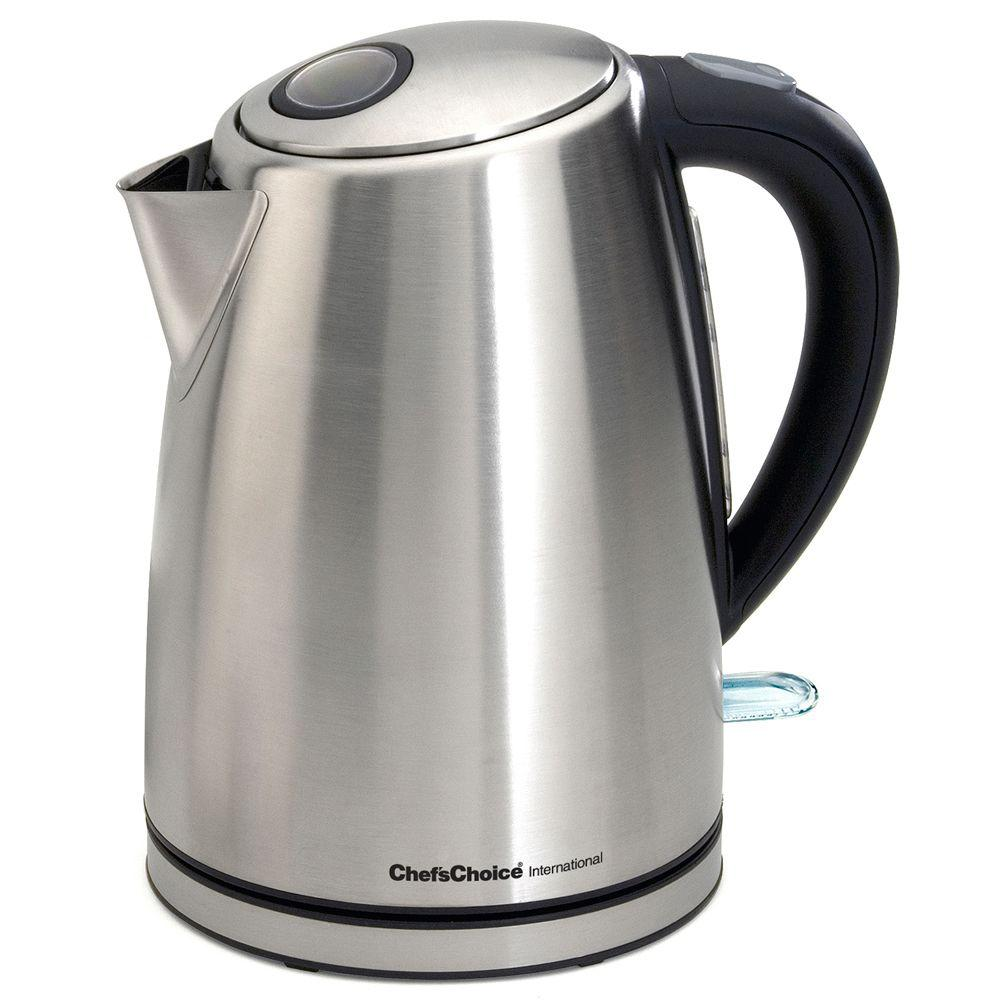 Chef'sChoice M681 Cordless Electric Kettle-6810001 - The Home Depot