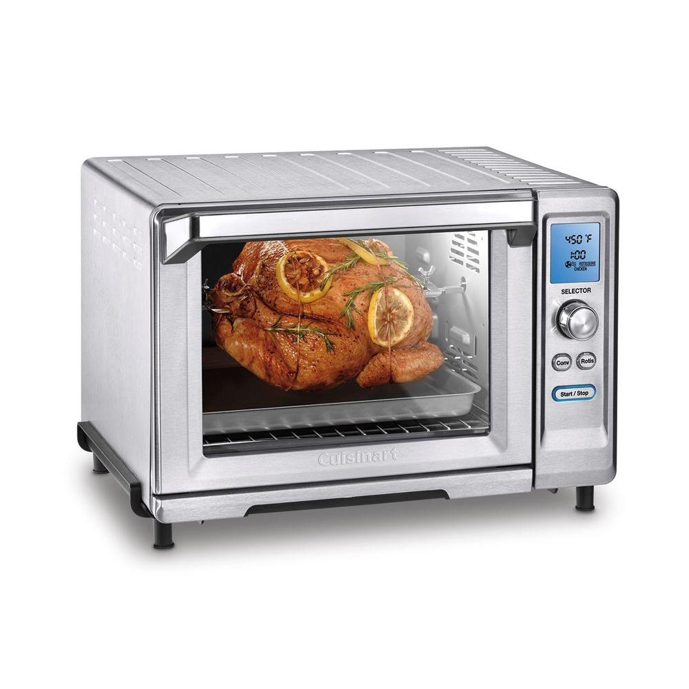 ... Convection Toaster Oven in Stainless Steel-TOB-200 - The Home Depot