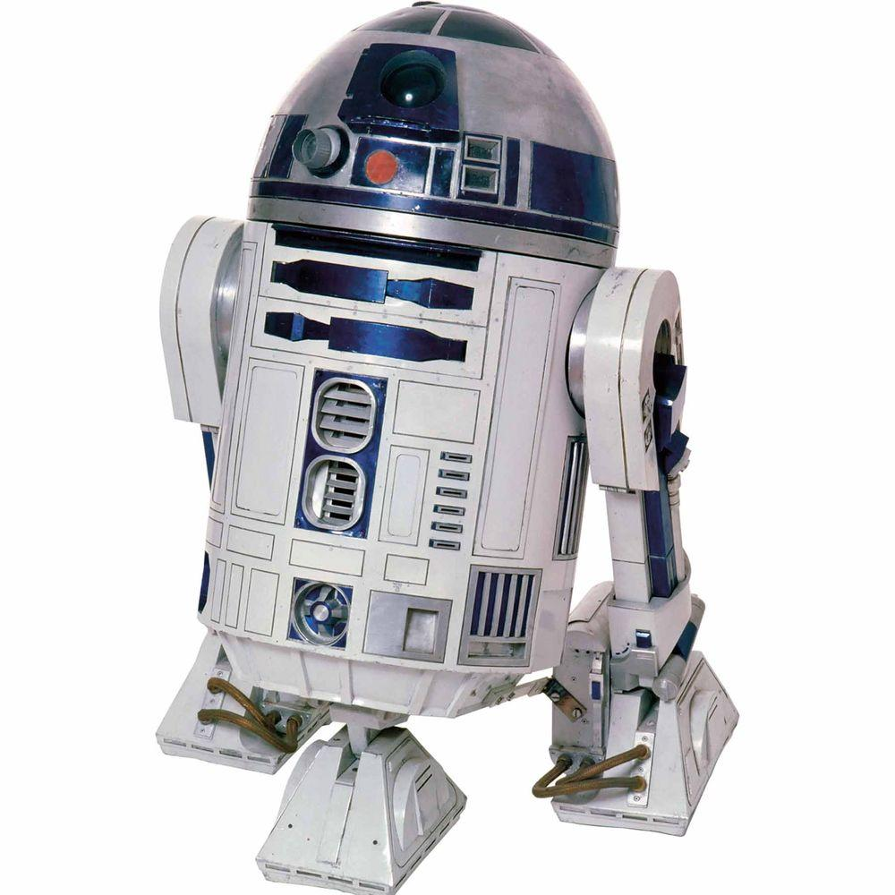 RoomMates 5 in. x 19 in. Star Wars Classic R2D2 Peel