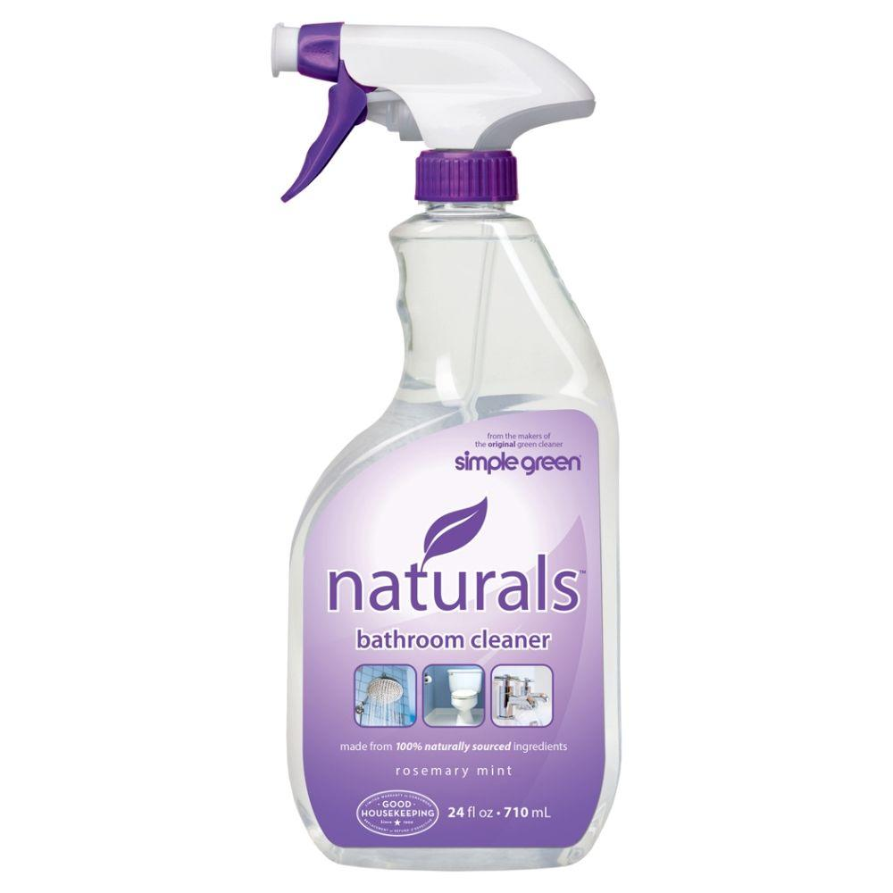 Simple Green 24 oz. Naturals Bathroom Cleaner (Case of 6)-3111000612303 -