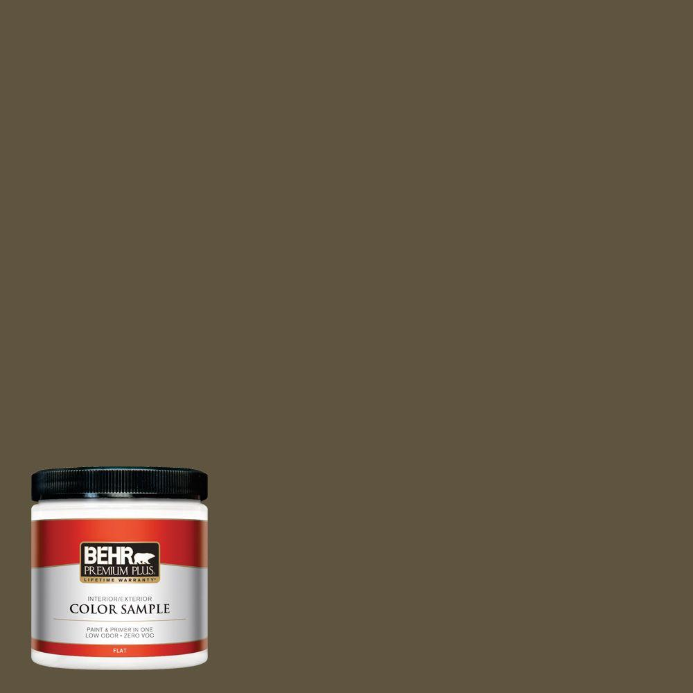 8 oz. #S-H-750 Mountain Trail Interior/Exterior Paint Sample