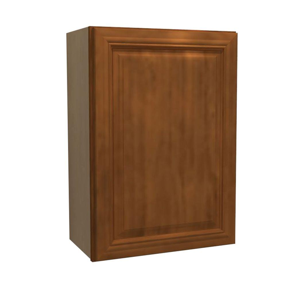 9x30x12 in. Clevedon Assembled Wall Cabinet with 1 Door Right Hand