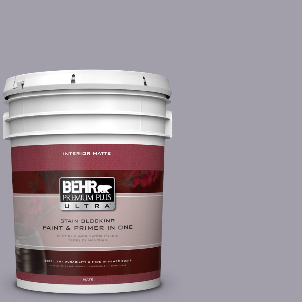 5 gal. #N550-4 Ashberry Matte Interior Paint
