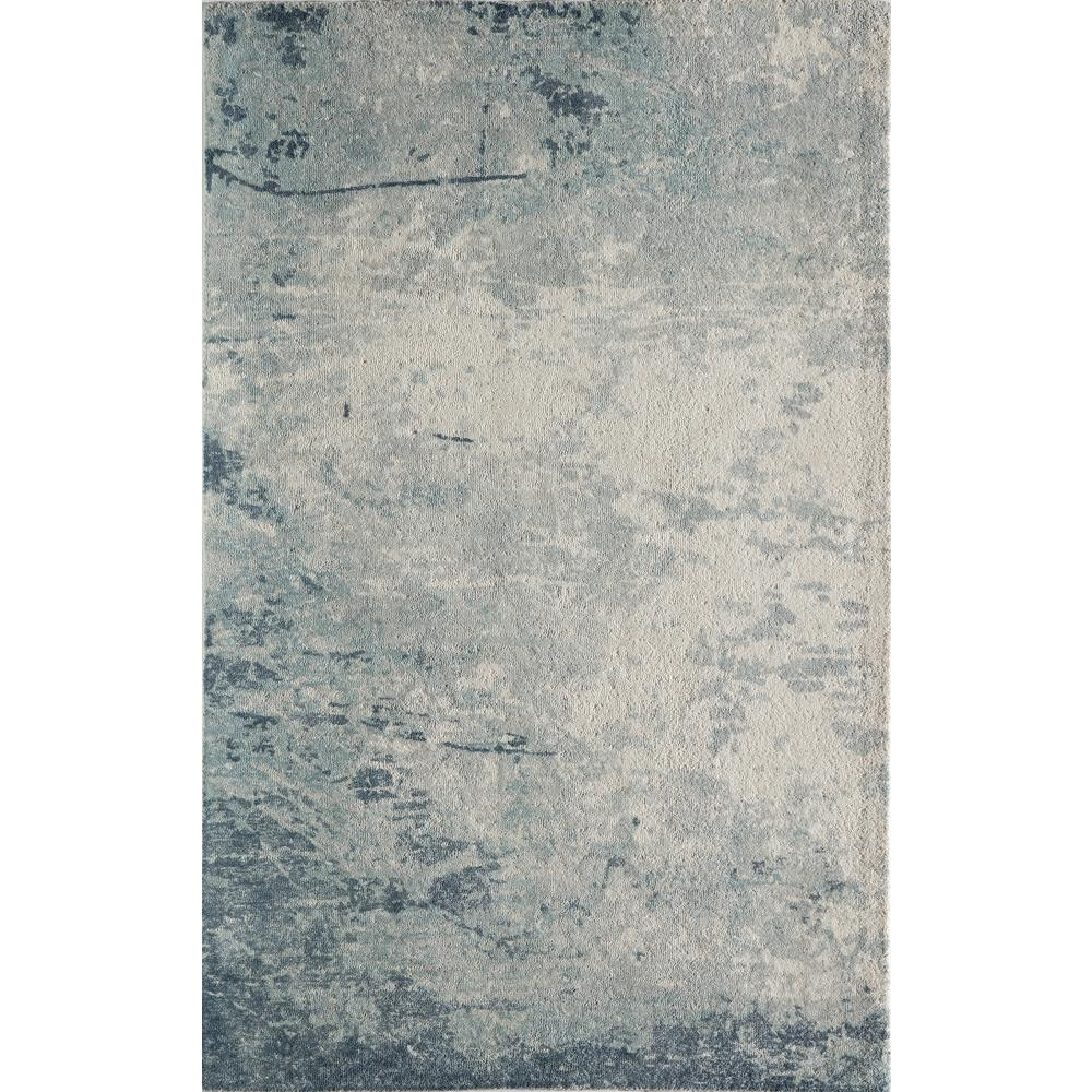Illusions Blue 3 ft. 6 in. x 5 ft. 6 in.