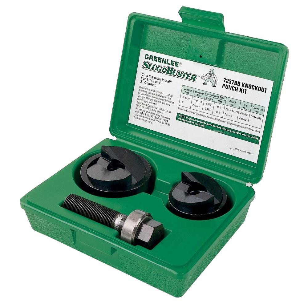 Greenlee 2 in. Manual Knockout Kit