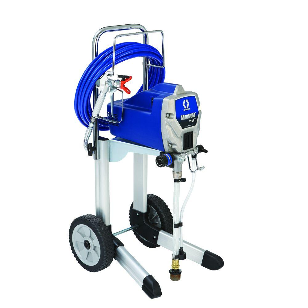 Graco prox7 airless paint sprayer 261815 the home depot for Air or airless paint sprayer