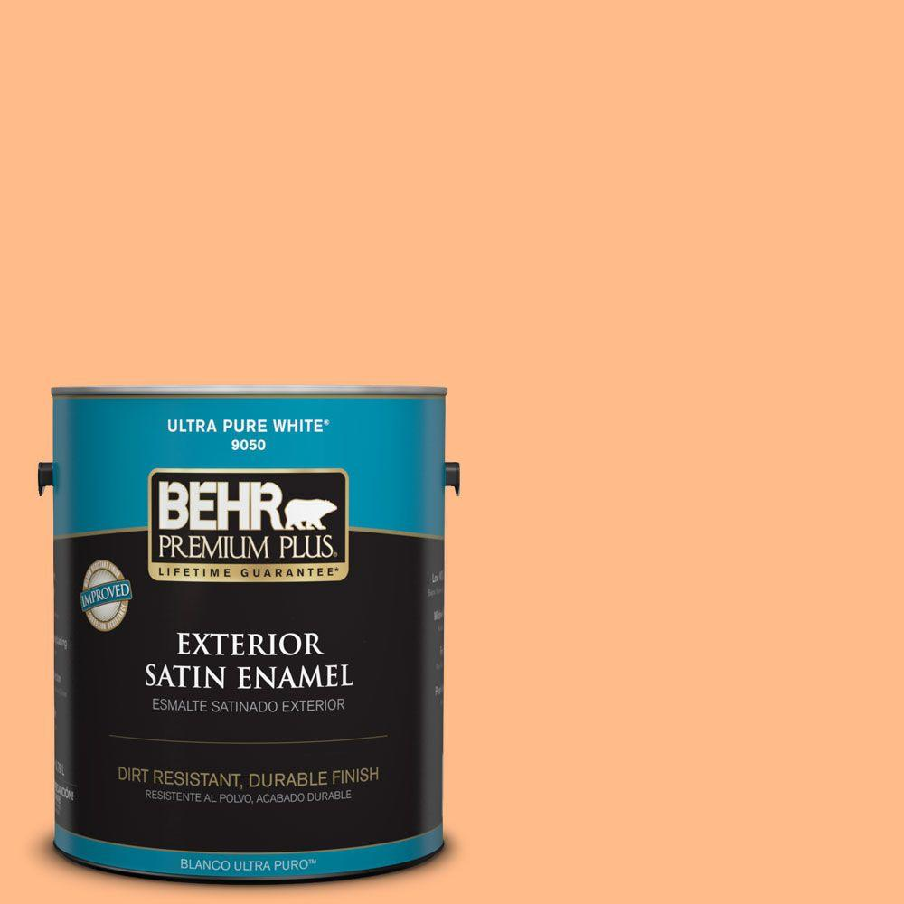 1-gal. #250B-4 Coral Gold Satin Enamel Exterior Paint