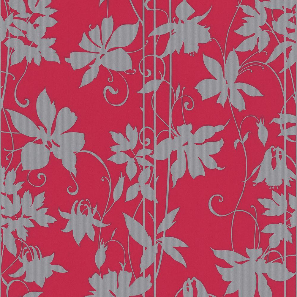 Graham & Brown 56 sq. ft. Selaggio Pink Paradise Garden Wallpaper-20-444
