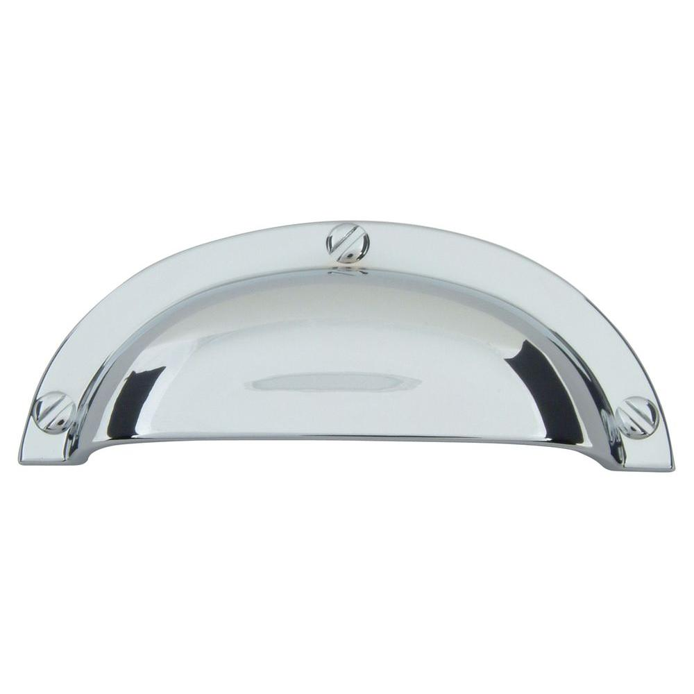 Atlas Homewares Successi 2 1/2 in. Polished Chrome Bin Cup Pull-A818-CH