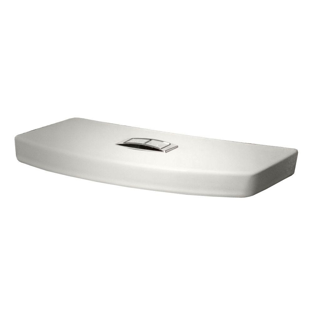 American Standard H2Option Toilet Tank Cover in White