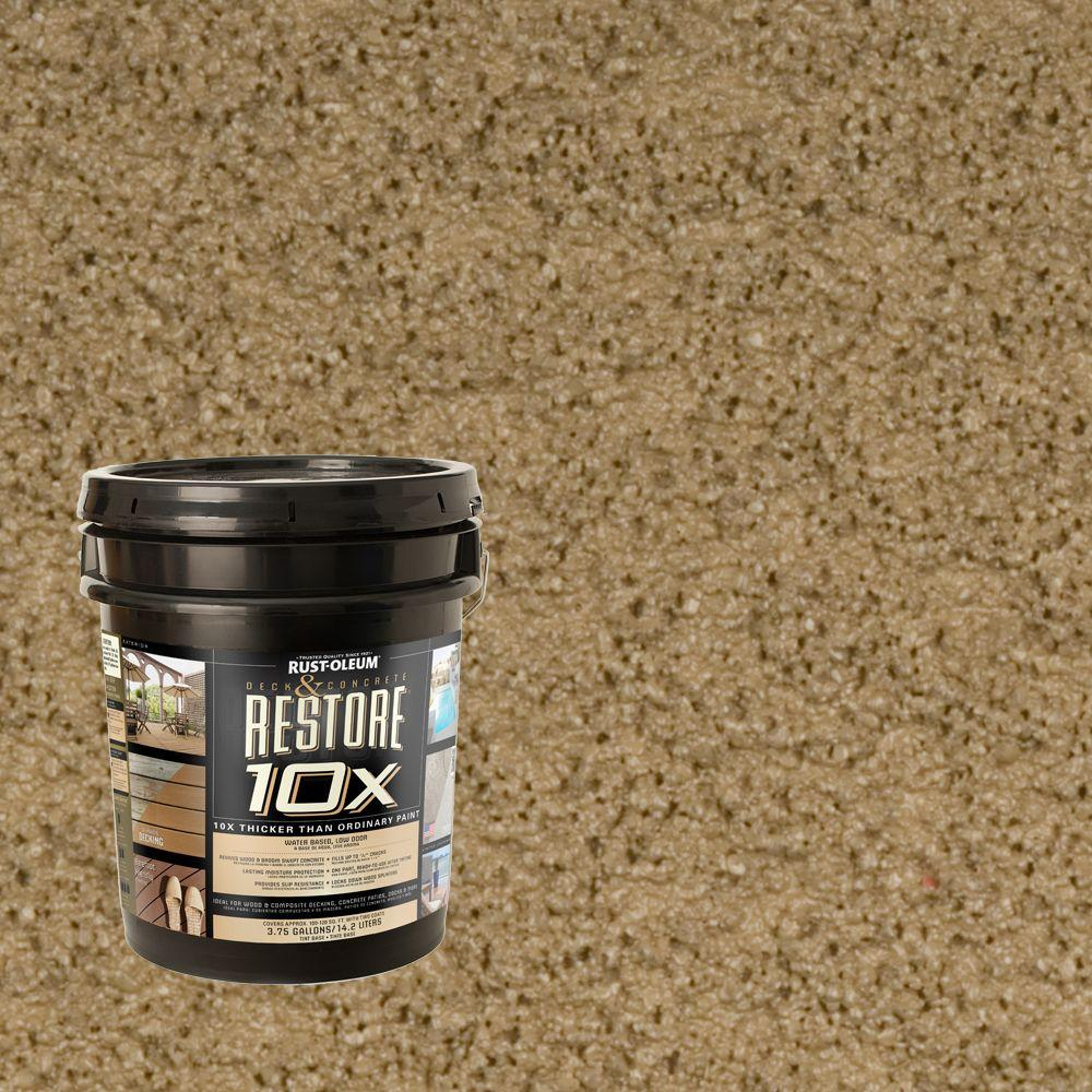 Rust-Oleum Restore 4-gal. River Rock Deck and Concrete 10X Resurfacer