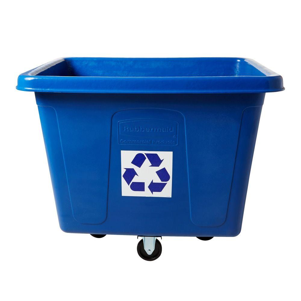 16 cu. ft. Recycling Cube Truck with Recycling Symbol