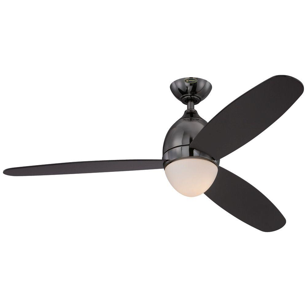 Westinghouse Troy 52 in. Gun Metal Indoor Ceiling Fan-7201700 - The
