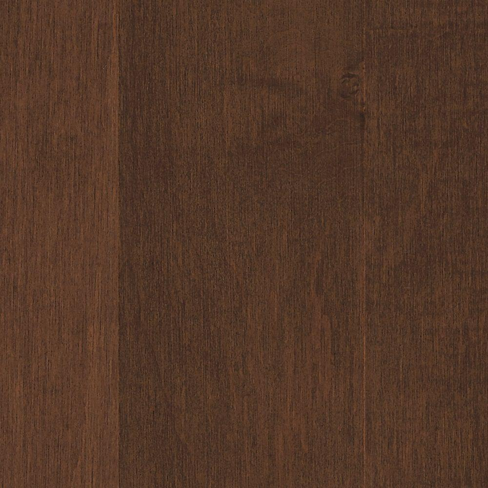 Maple Spiced Ginger Performance Hardwood Flooring - 5 in. x 7 in. Take Home Sample