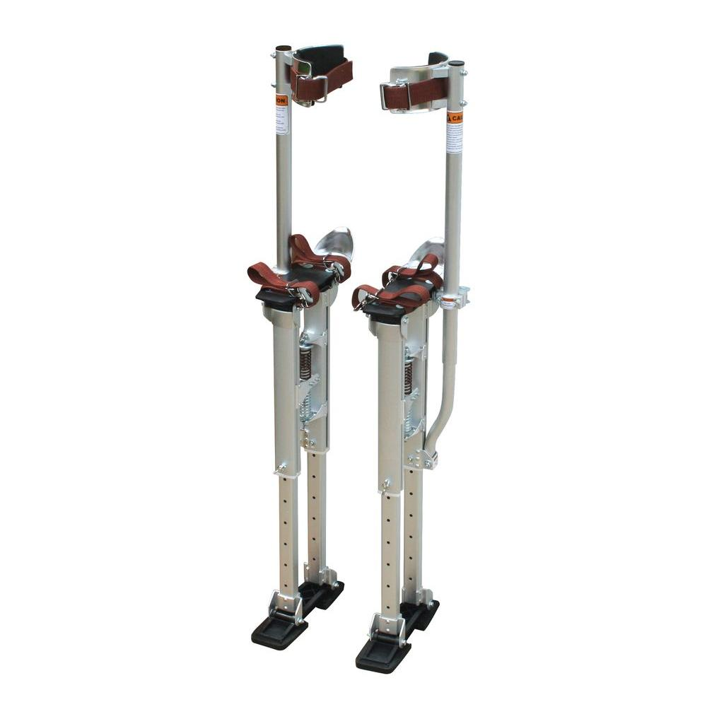 PRO-SERIES 18 in. to 30 in. Adjustable Height Drywall Stilts