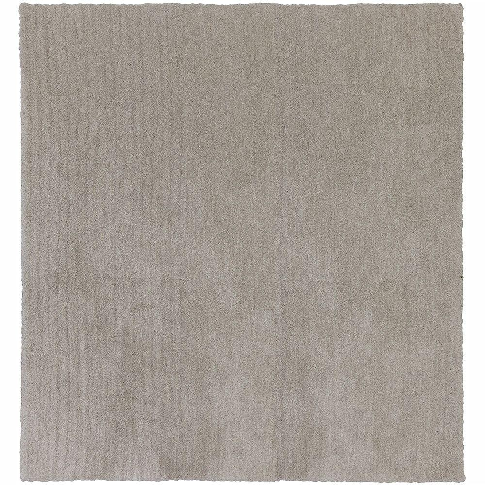 Ethereal Gray 8 ft. x 8 ft. Square Area Rug