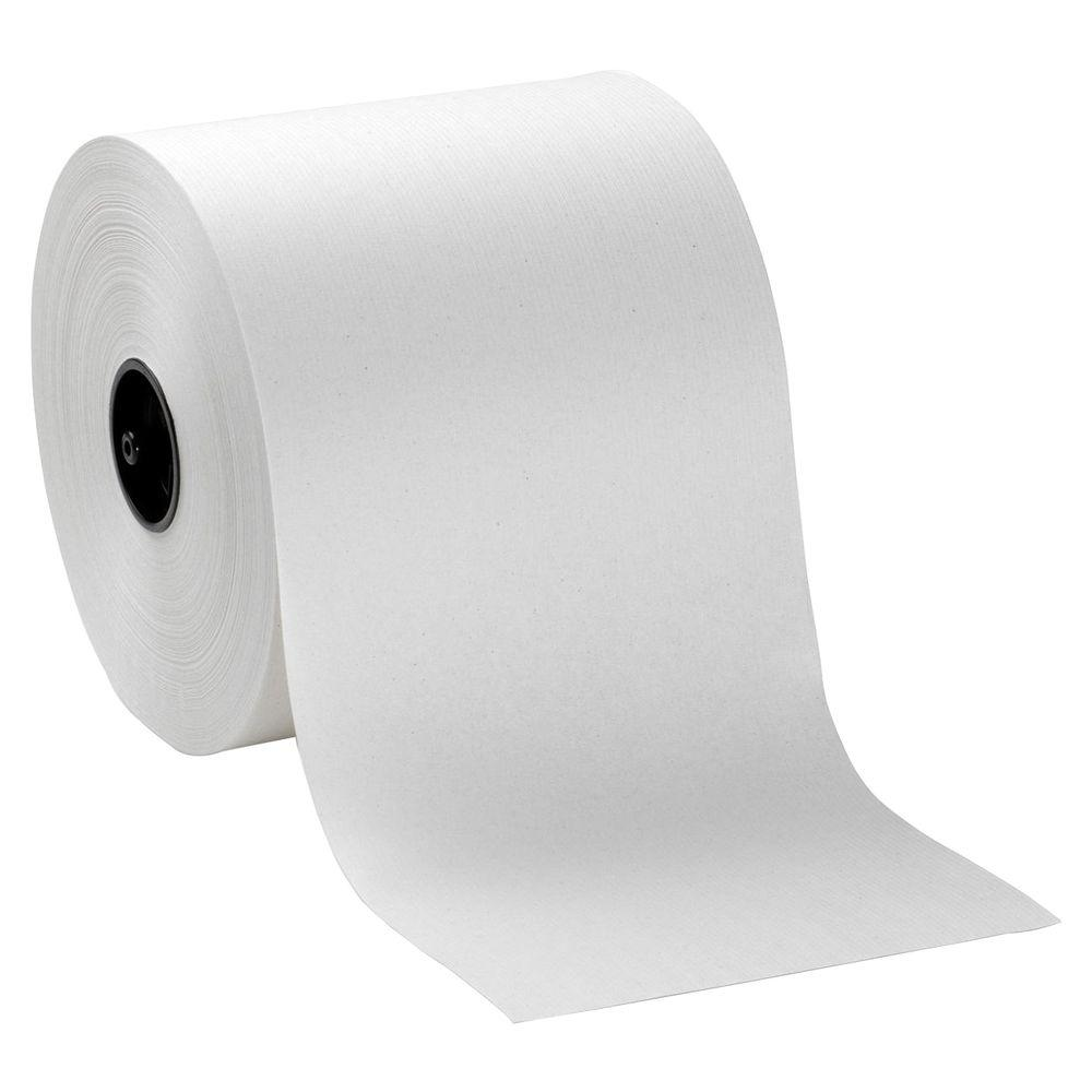 100% Recycled Fiber Hardwound Roll Paper Towels (6 per Carton)