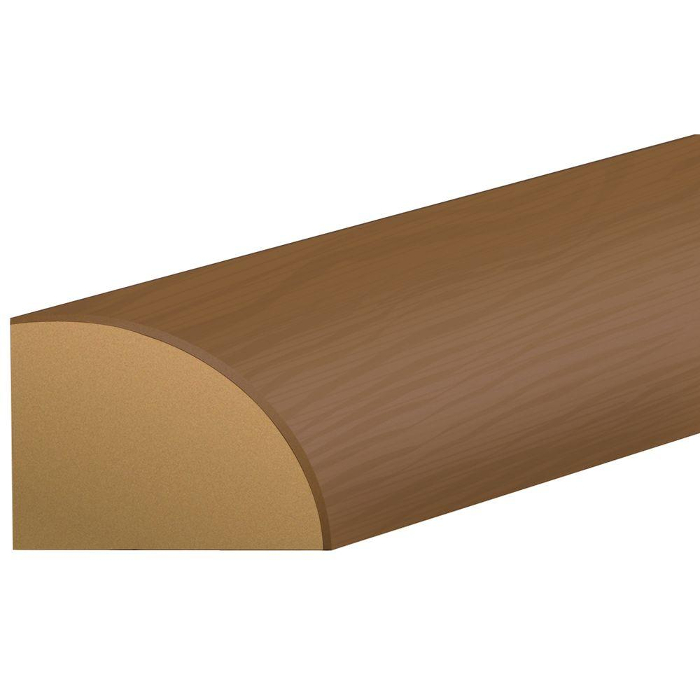 Shaw Gunstock Hickory 3/4 in. Thick x 0.63 in. Wide x 94 in. Length Laminate Quarter Round Molding