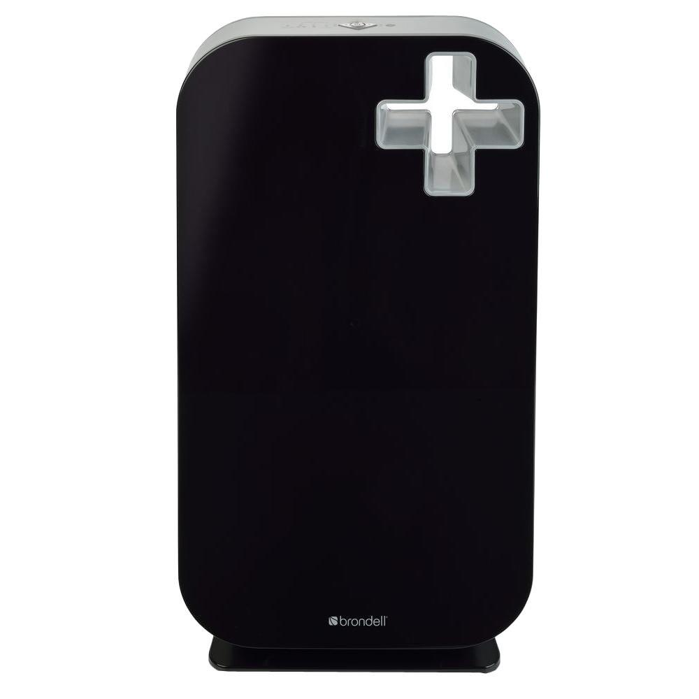 O2+ Source Air Purifier in Black